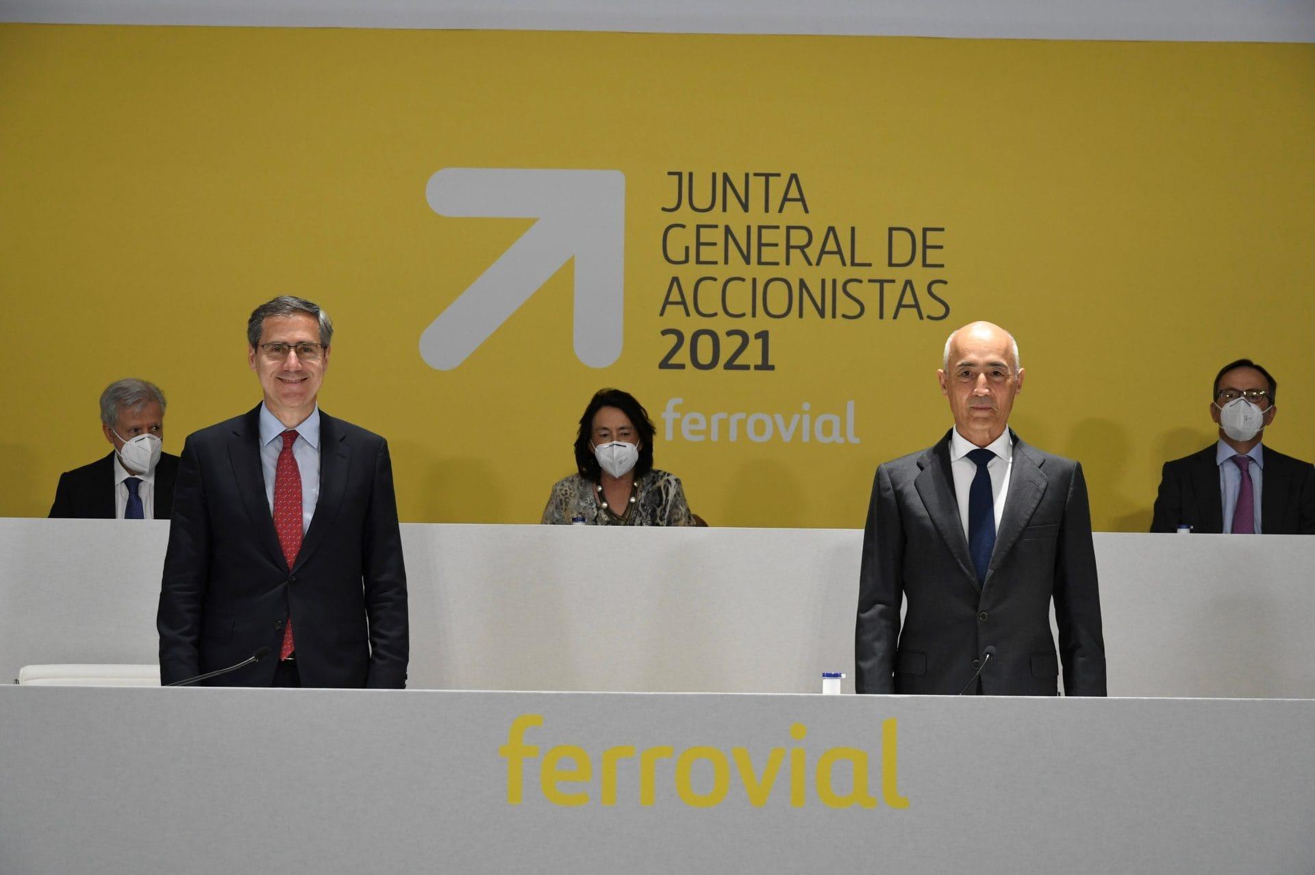 Rafael del Pino Ignacio Madridjos Junta Gneral 2021