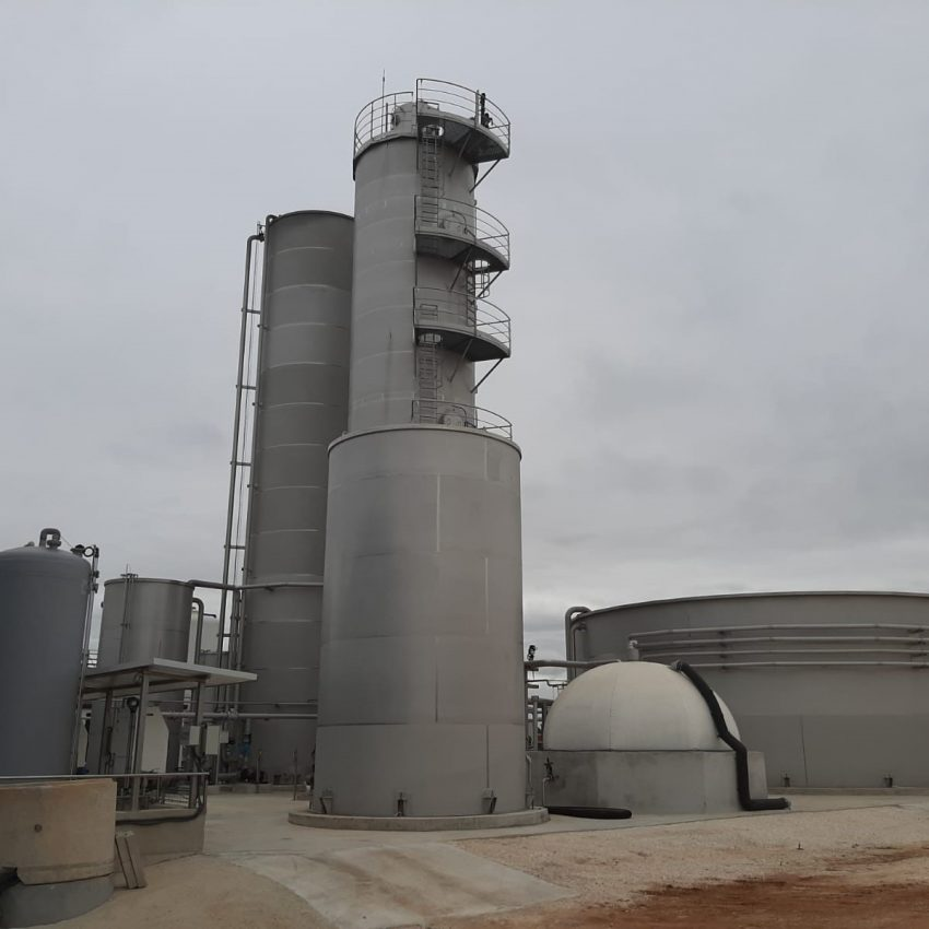 Depuradora Aguas Residuales Industriales Tratamiento Cadagua Sevilla