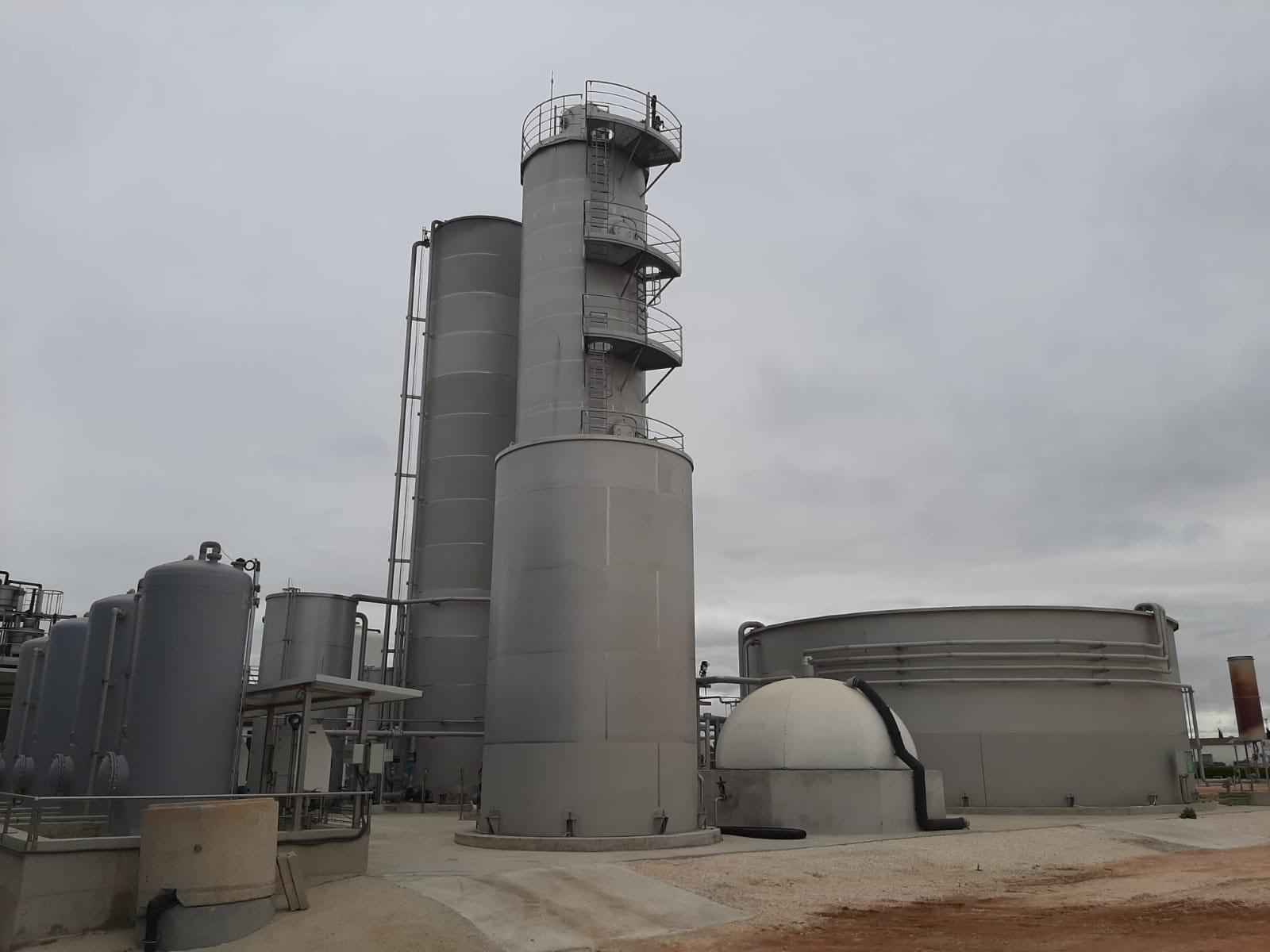 Waste Water Treatment Plant Seville Cadagua Spain