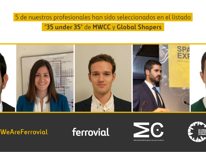 MWCC Global Shappers Most Influential Young Engineers Architects Award Madrid Spain