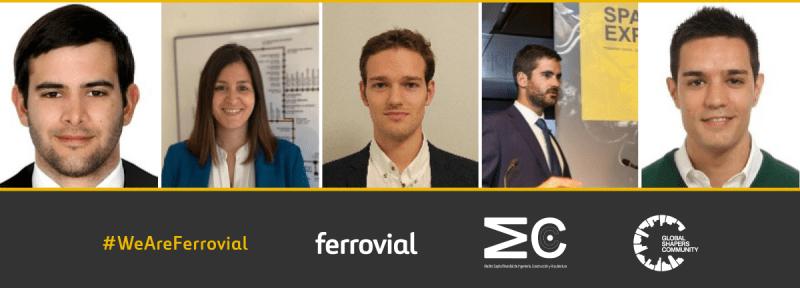 MWCC Global Shappers Mejores Ingenieros Arquitectos Jovenes Premios Ferrovial Construccion Madrid España