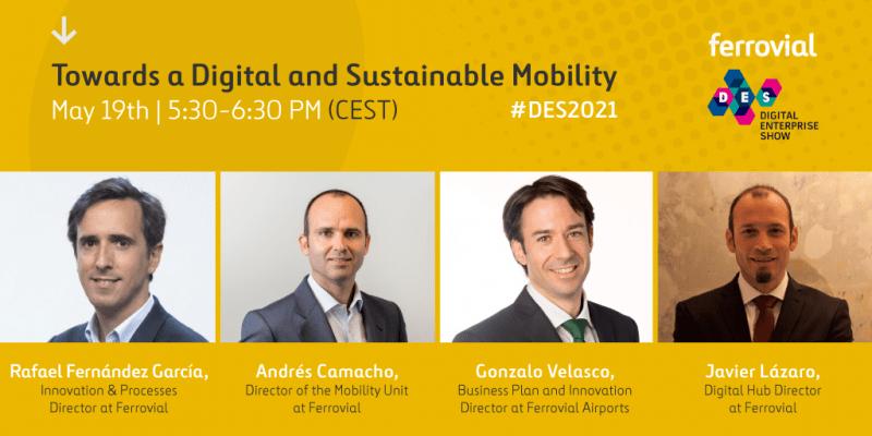 DES Digital Enterprise Show 2021 Urban Sustainable Digital Mobility
