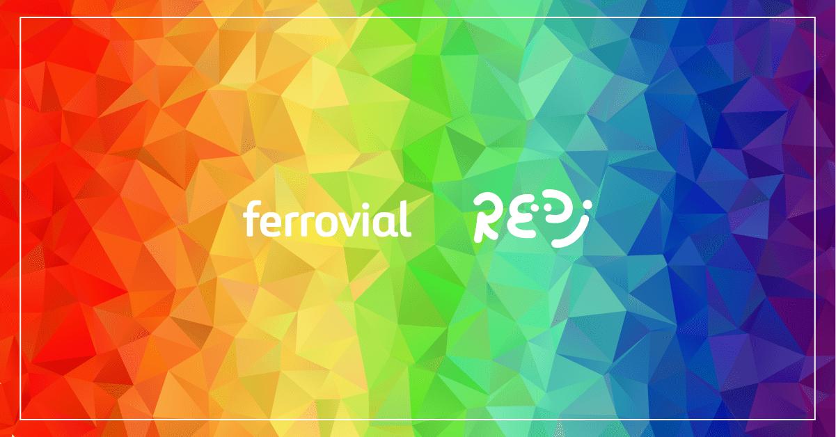 Ferrovial celebrating international LGBTI Pride Day