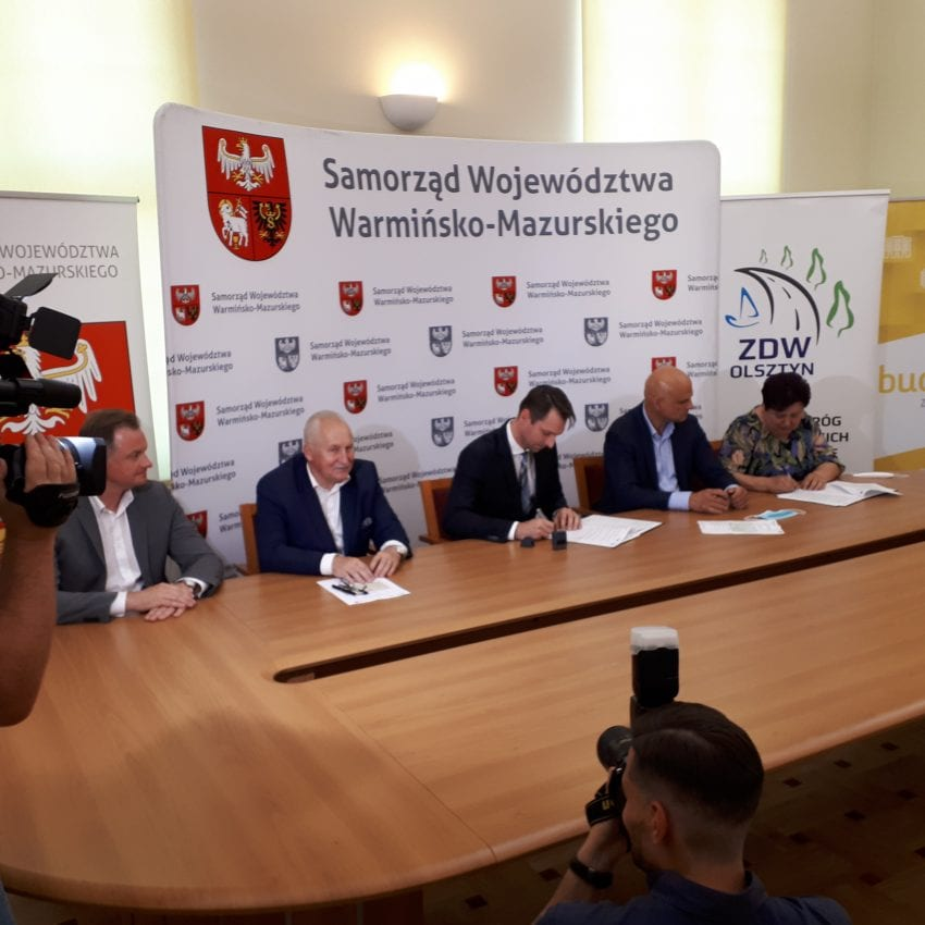 Budimex reconstruirá 22 km de la carretera 527 entre Łukta y Olsztyn