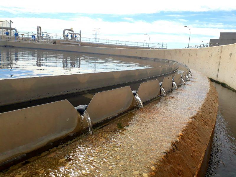 Cadagua construcción depuradora puerto real