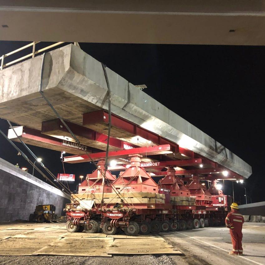 Ferrovial construcción tramo SH114